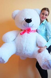 Большой плюшевый медведь 190 Я тебя люблю