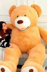 Гигантский плюшевый  медведь Мишаня 260 см