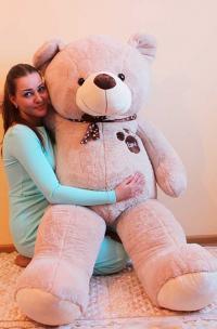 Большой плюшевый медведь 190 см