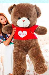 Большой плюшевый медведь 160 см Love