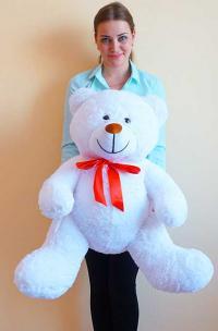 медведь 120 см белый