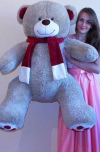 Плюшевый медведь 150 см Латте