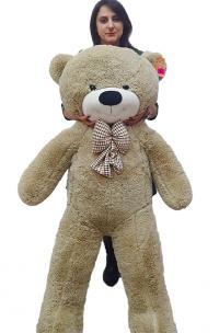 Плюшевый медведь 190 см с бантиком