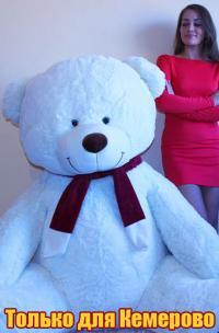 Огромная плюшевая игрушка медведь 240 см