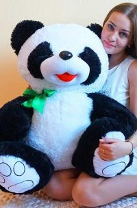 Плюшевый медведь Панда 140 см