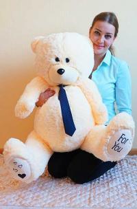 плюшевый медведь 130 см