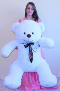 плюшевый медведь 150 с с сердцем