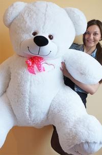 Плюшевый медведь 190 см с любовью