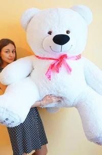 Плюшевый медведь 160 см I LOVE YOU