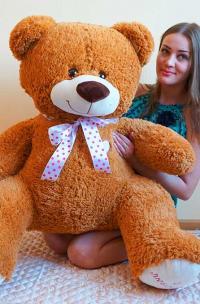 Плюшевый медведь 140 см С любовью