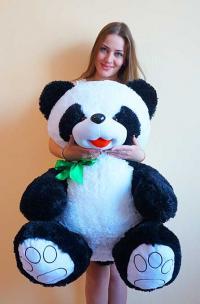 Панда плюшевый медведь 140 см