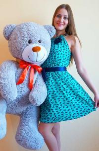 Мягкая игрушка медведь 160 см